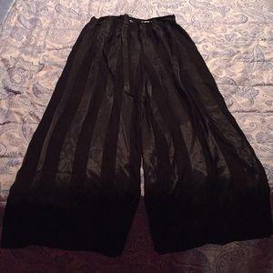 Victoria's Secret Soft Black Pajama Pants